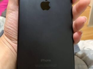 Iphone 7 plus 256 Gb Mate black Color